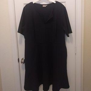 Eshakti fit and flare dress